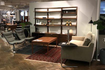 現代の家具とヴィンテージとのミックススタイル